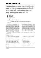 Nghiên cứu ảnh hưởng của nhiệt độ nước phun và chênh lệch nhiệt độ tối thiểu đến hệ số năng suất của hệ thống khử muối bằng phương pháp phun tách ẩm - Võ Kiến Quốc