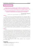 Ảnh hưởng của chế độ cho ăn đến hoạt động enzym tiêu hóa ở ấu trùng cá giò (Rachycentron canadum Linnaeus, 1766) - Nguyễn Quang Huy