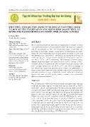 Kiến thức, thái độ, thực hành về vệ sinh an toàn thực phẩm và một số yếu tố liên quan của người kinh doanh thức ăn đường phố tại thành phố Long Xuyên, tỉnh An Giang năm 2014 - Lê Ngọc Hiệp